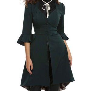 Hot Topic Harry Potter Green Book Dress Coat